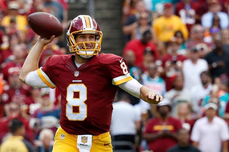 Kirk Cousins, NFL, Washington Redskins