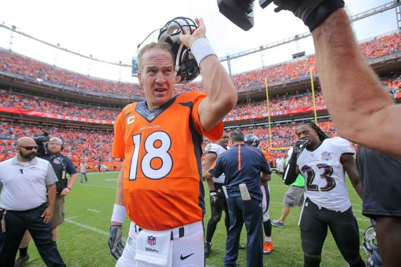 Peyton Manning continues his career in Denver. (Getty)