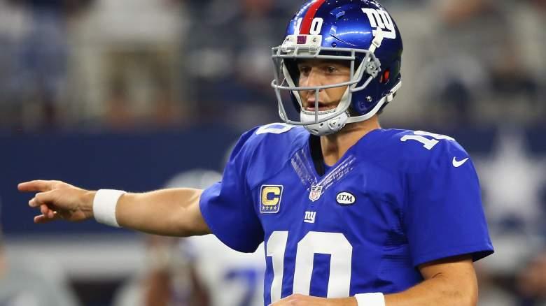 Eli Manning, NFL, New York Giants
