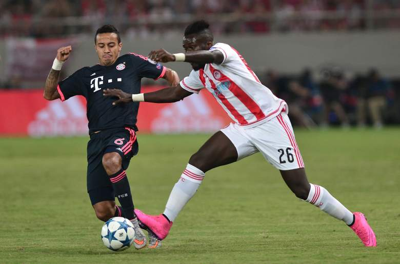Olympiakos couldnt handle Bayern Munich in Matchday 1. Getty)