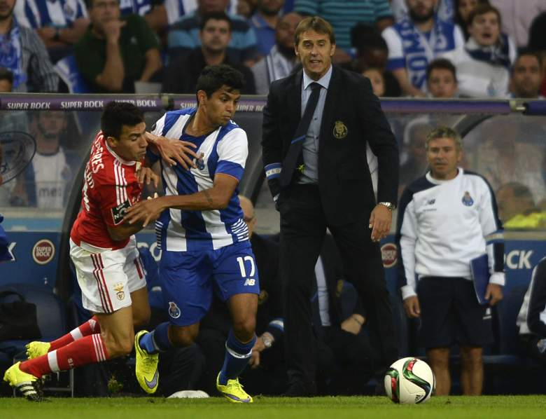 Porto are top of the Portuguese League standings after six matches. Getty)