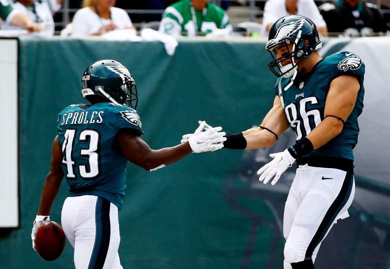 Darren Sproles, Zach Ertz, Philadelphia Eagles, NFL