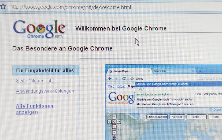 web browser apps, firefox, chrome