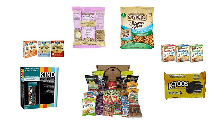 gluten free snacks, gluten free foods, gluten free food list