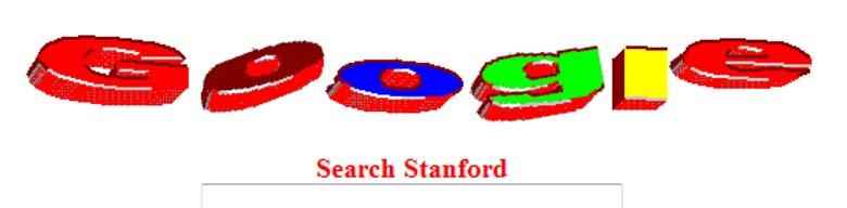 Google's pre-launch logo