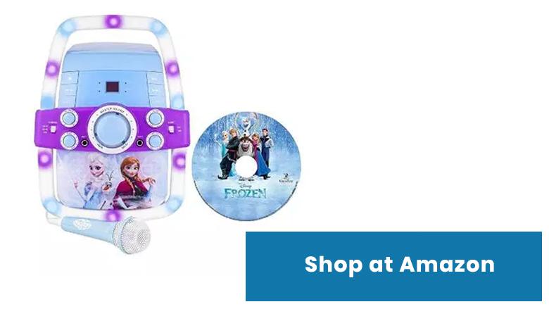 frozen karaoke machine for kids