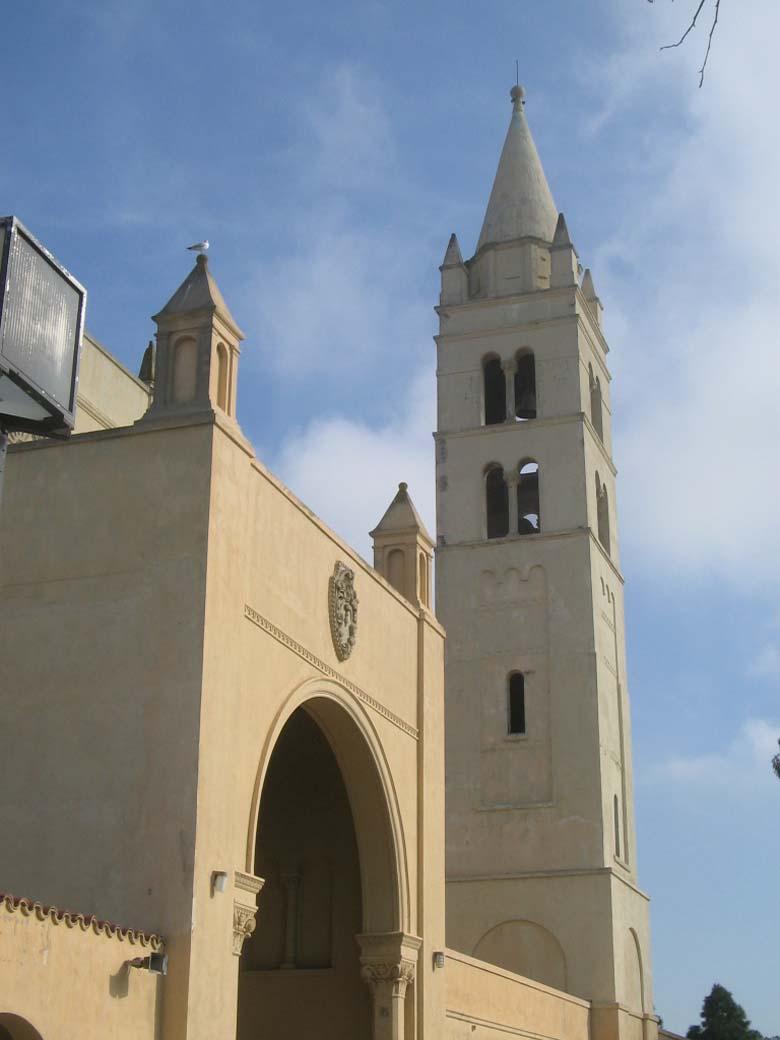 Huntington Beach High School's bell tower