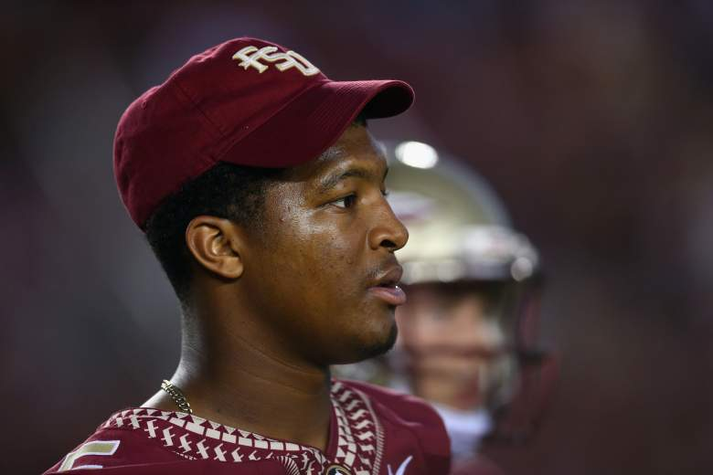 Jameis Winston had a troubled tenure at Florida State, trouble that Jameis' father Antonor said was the fault of Florida State's culture. (Getty)