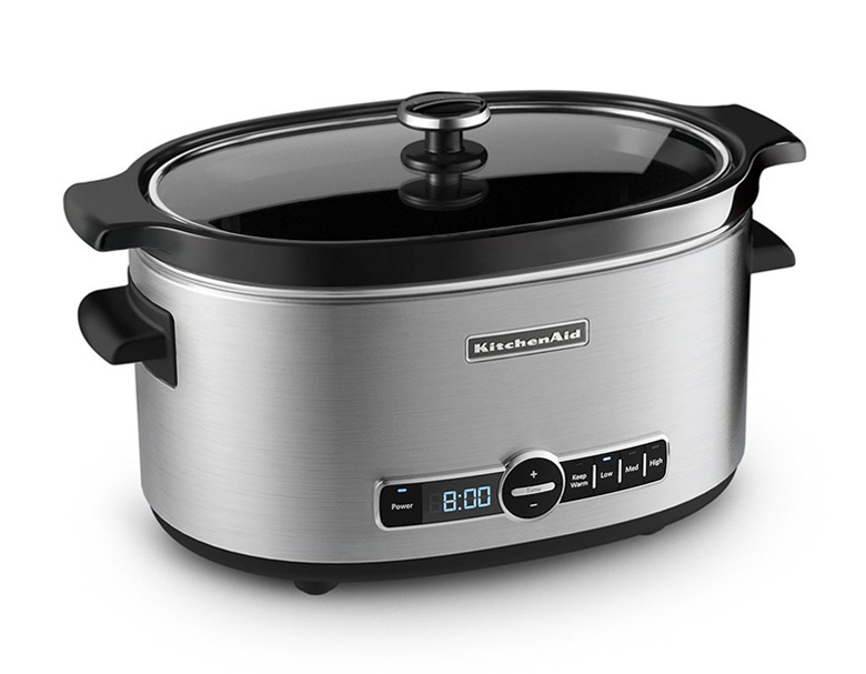 KitchenAid KSC6223SS 6-Qt. Slow Cooker with Standard Lid, slow cooker
