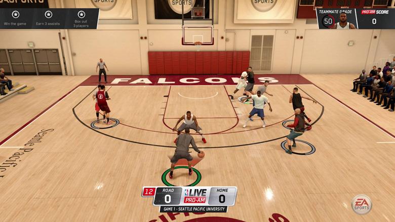 NBA Live 16 Pro Am