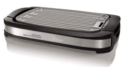 Oster CKSTGR3007-ECO DuraCeramic Reversible Grill and Griddle, electric griddle