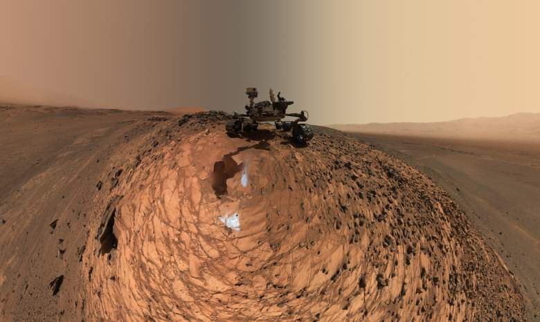 Is there an ocean on Mars