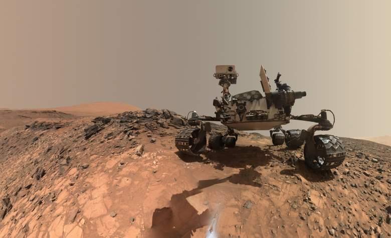 Mars Curiosity Rover, Curiosity water on Mars