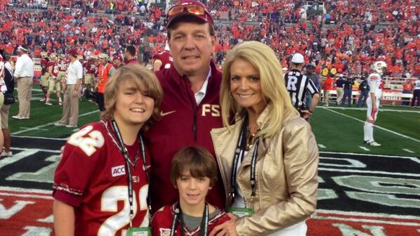 Jimbo Fisher family, Jimbo Fisher wife