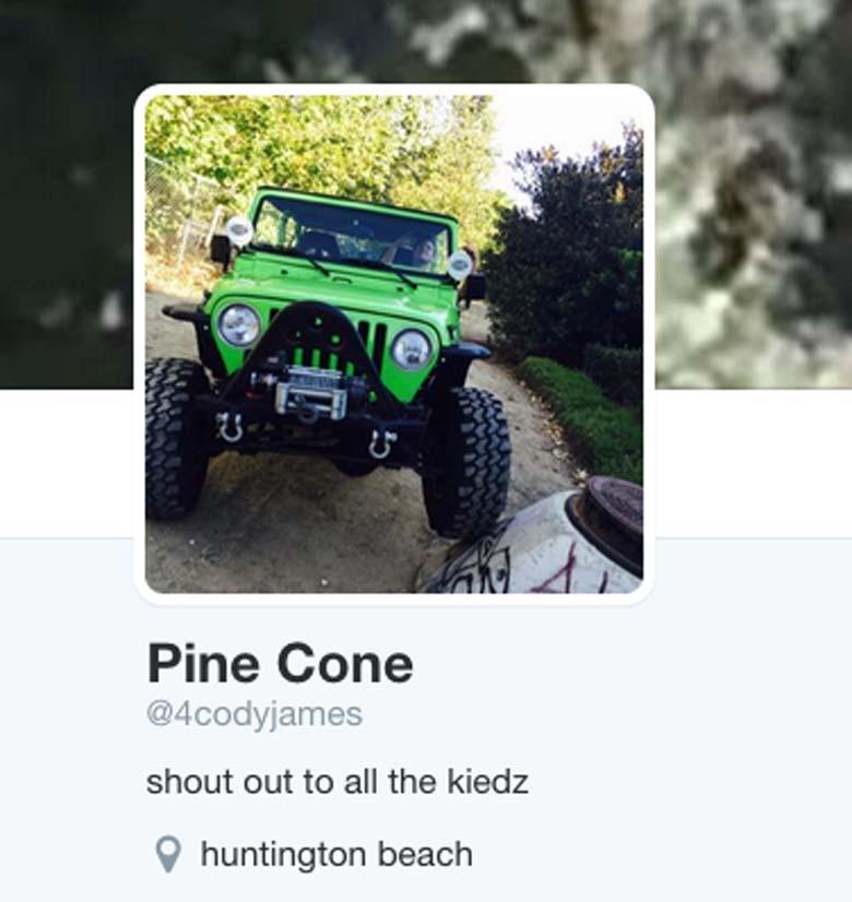 Cody Pine Twitter