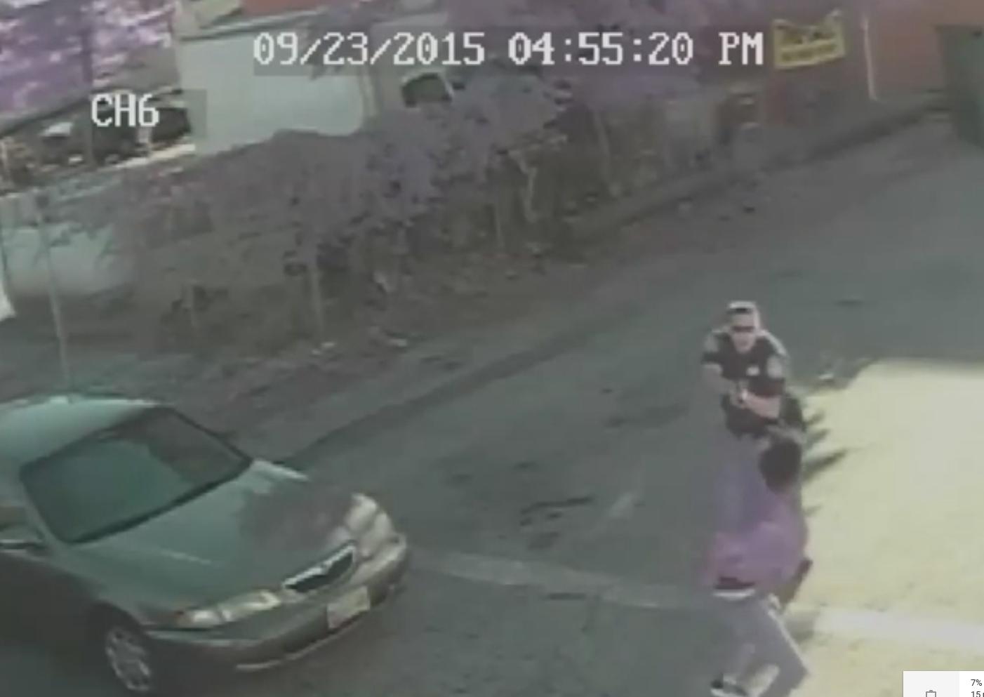 Keith McLeod, Baltimore County police shooting video