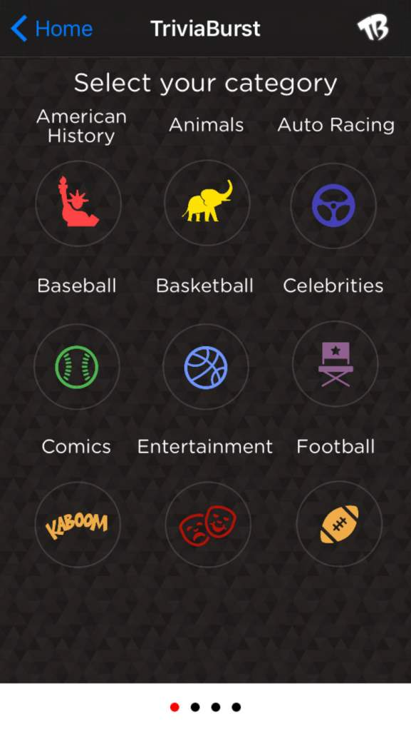 trivia apps, trivia games, trivia burst