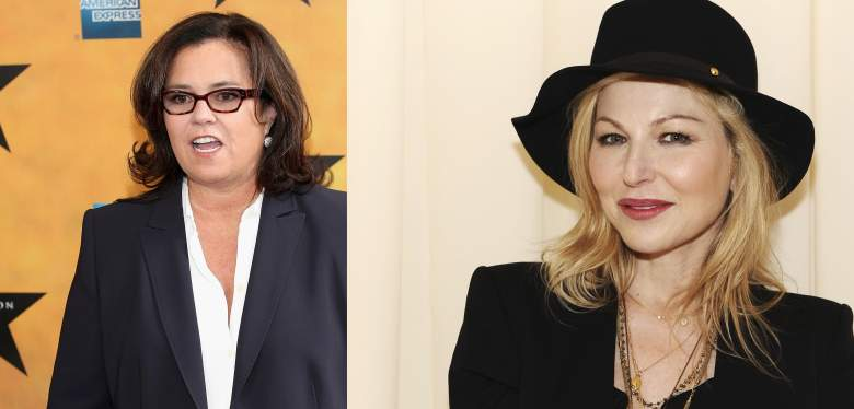 Rosie O'Donnell, Tatum O'Neal, relationship