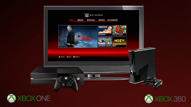xbox wwe network, wwe fastlane 2016, wwe ppv on xbox