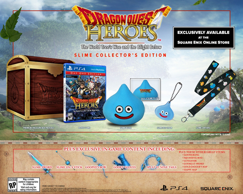 Dragon Quest Heroes Special Edition