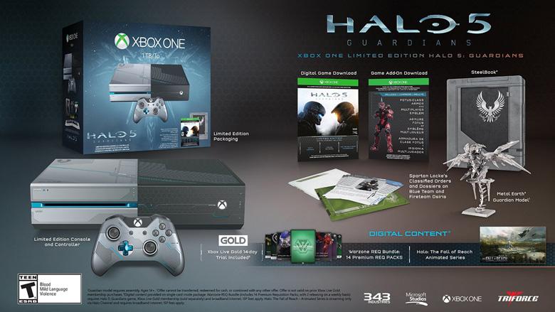 Halo 5 Xbox One Bundle