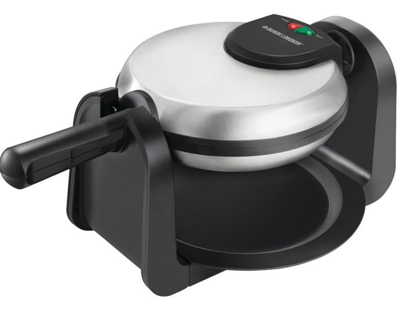 Black & Decker WM1404S Flip Waffle Maker, waffle maker, waffle iron