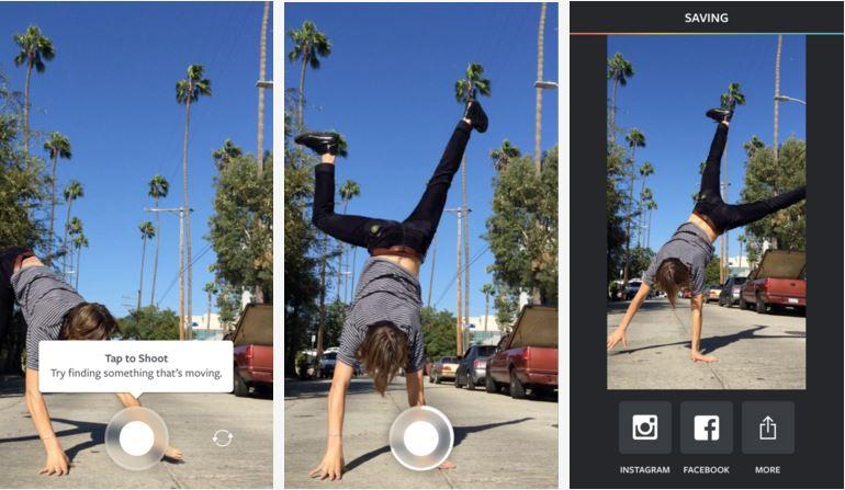 Boomerang, Boomerang app, Instagram