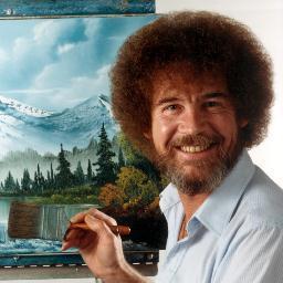 bob ross, bob ross joy of painting, bob ross live stream, bob ross birthday