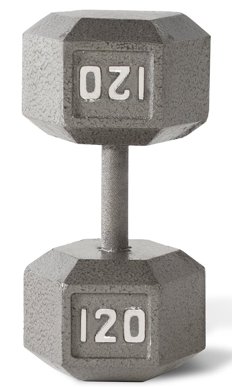 CAP Barbell Cast Iron Hex Dumbbell, dumbbells