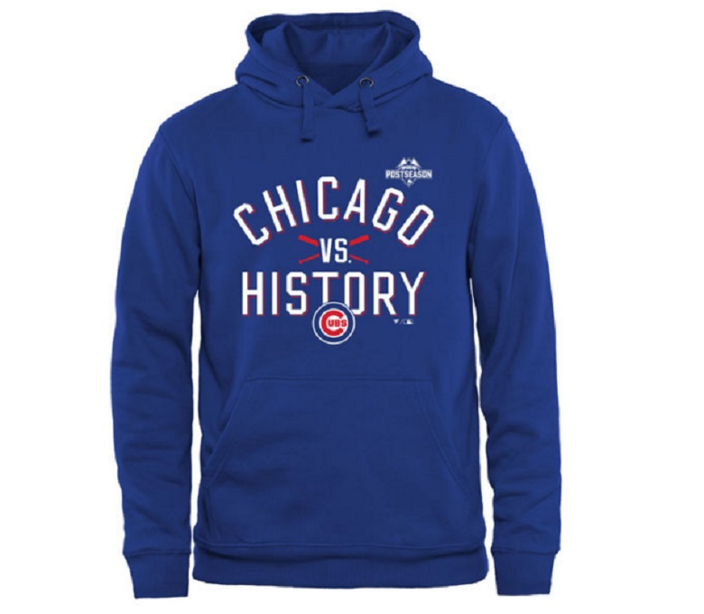 Cubs postseason men's hoodie Cubs NLCS gear