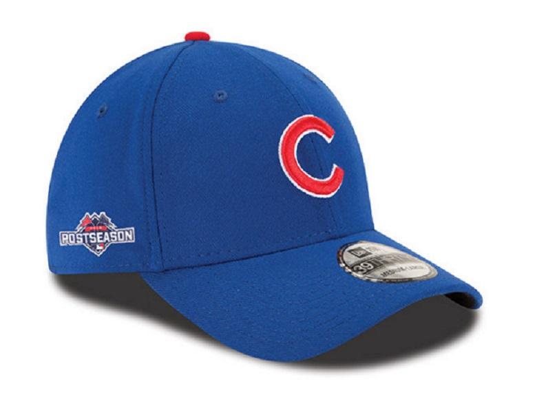 Cubs postseason classic flex hat Cubs NLCS gear