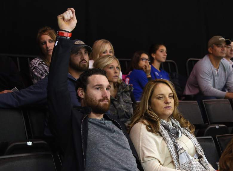 Daniel and Tori, pictured here at a New York Islanders game on October 23, 2015, broke up for a while before marrying in 2012. (Getty)