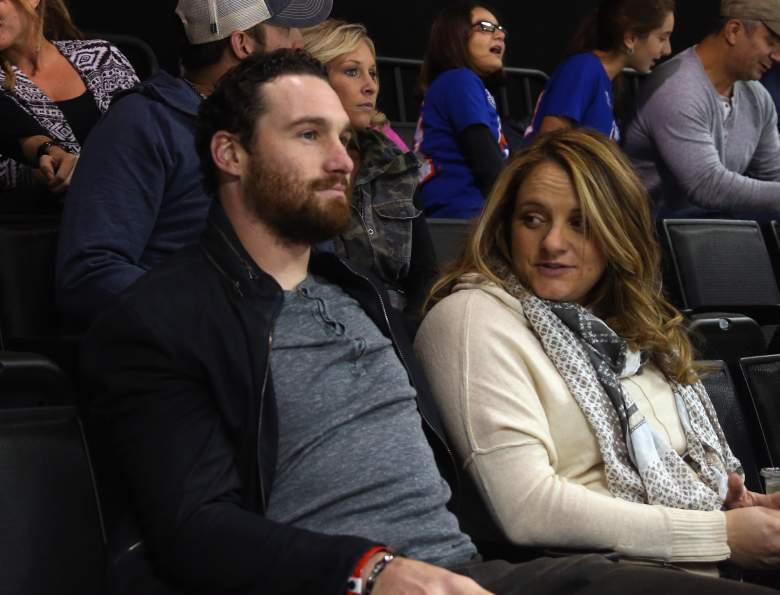 Daniel Murphy and Tori Ahearn were married in 2012. (Getty)