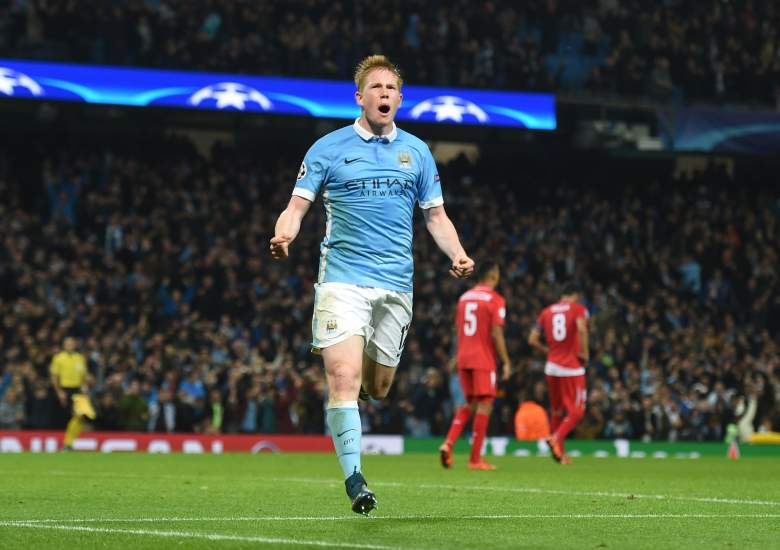 Fresh off of scoring the late winner for Manchester City against Sevilla in the Champions League, Kevin de Bruyne leads Manchester City into Old Trafford against rivals Manchester United. Getty