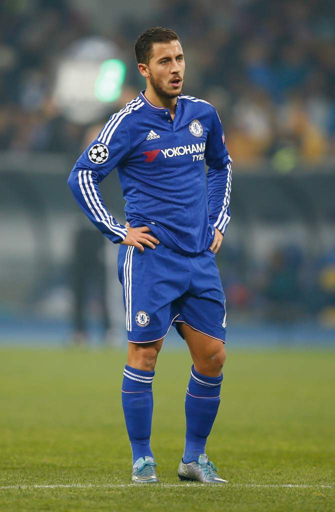 Eden Hazard and Chelsea drew 0-0 against Dynamo Kiev and are in danger of not advancing out of Group G. (Getty)