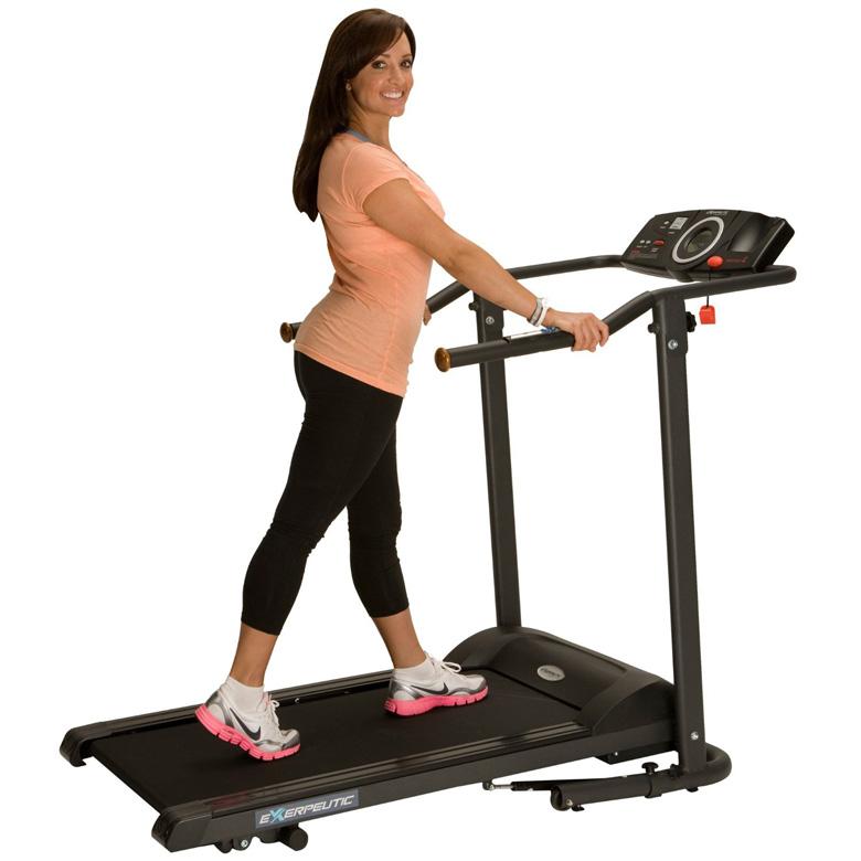 Exerpeutic TF1000 Walk to Fitness Electric Treadmill, treadmill