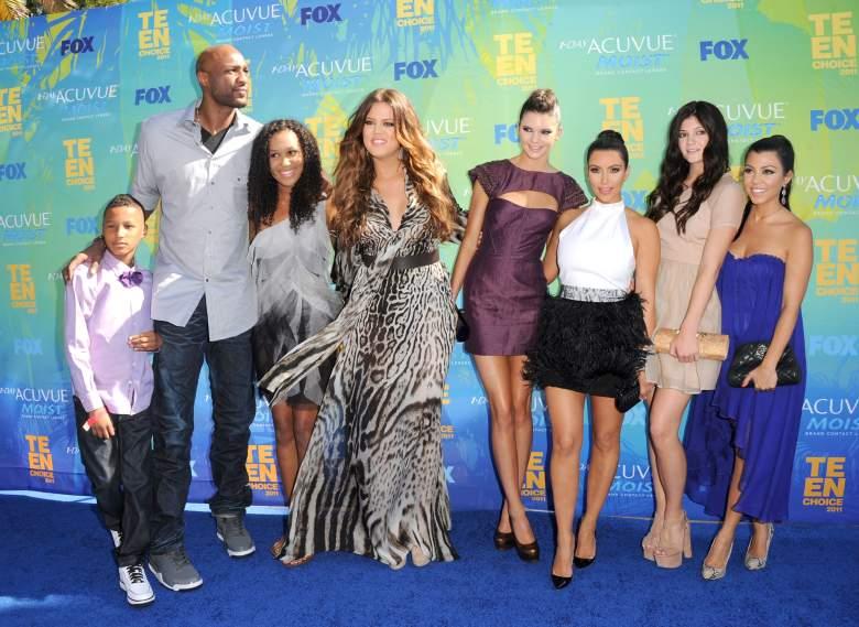 Kardashians react to Lamar Odom