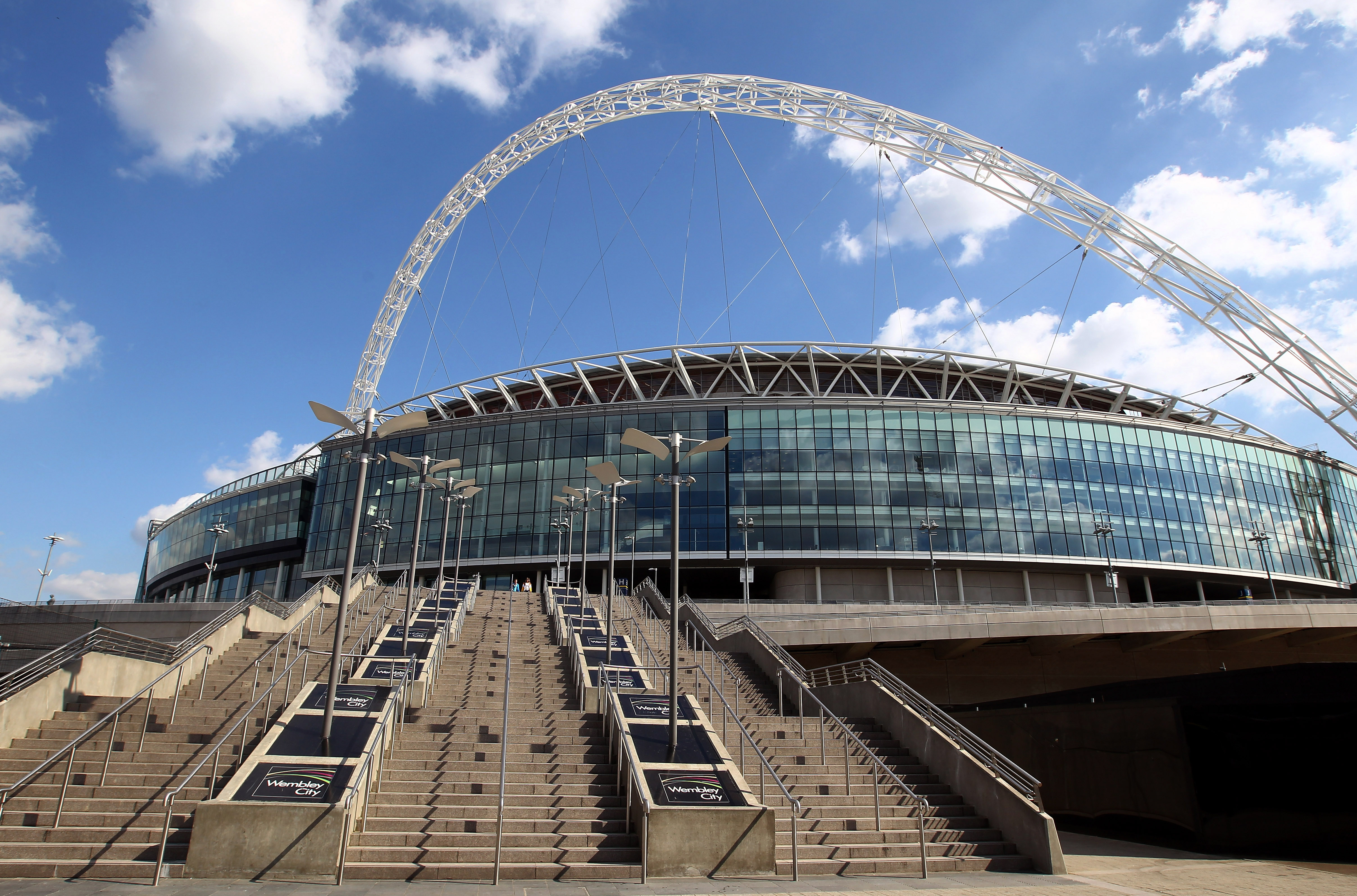 Wembley Stadium has hosted NFL games since 2007. (Getty)