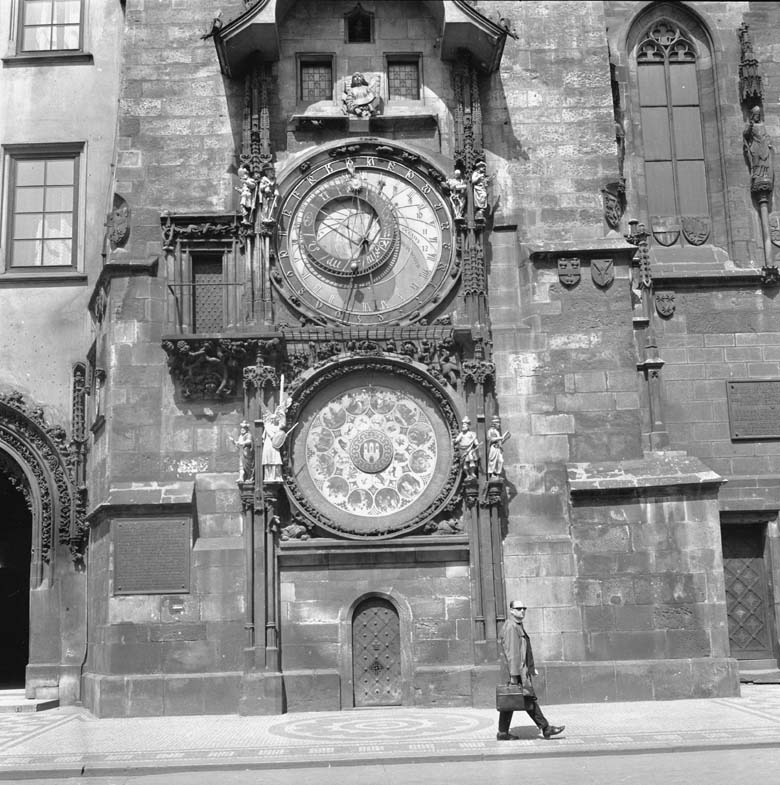 The clock pictured in July 1966. (Getty)