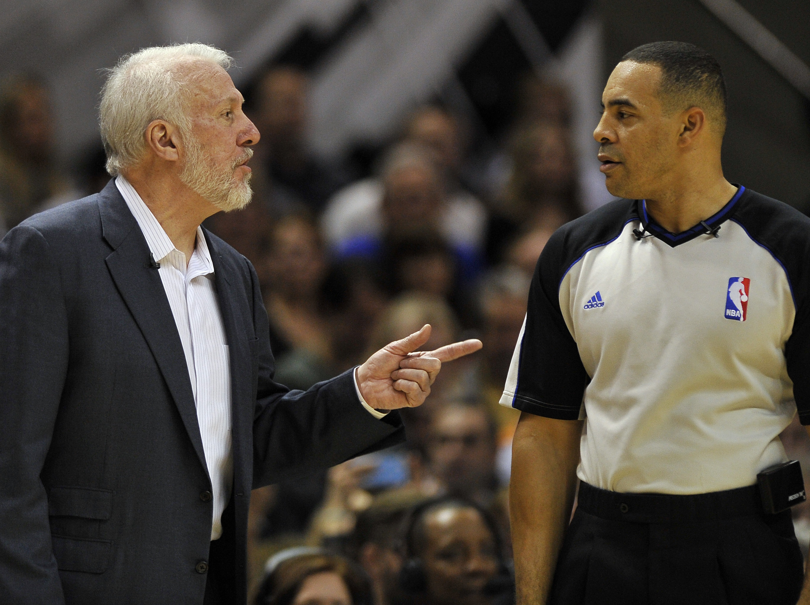 In his 15 full seasons as Spurs coach, Popovich has never missed the playoffs. (Getty)