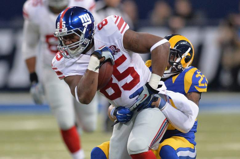 Daniel Fells, Daniel Fells MRSA, New York Giants