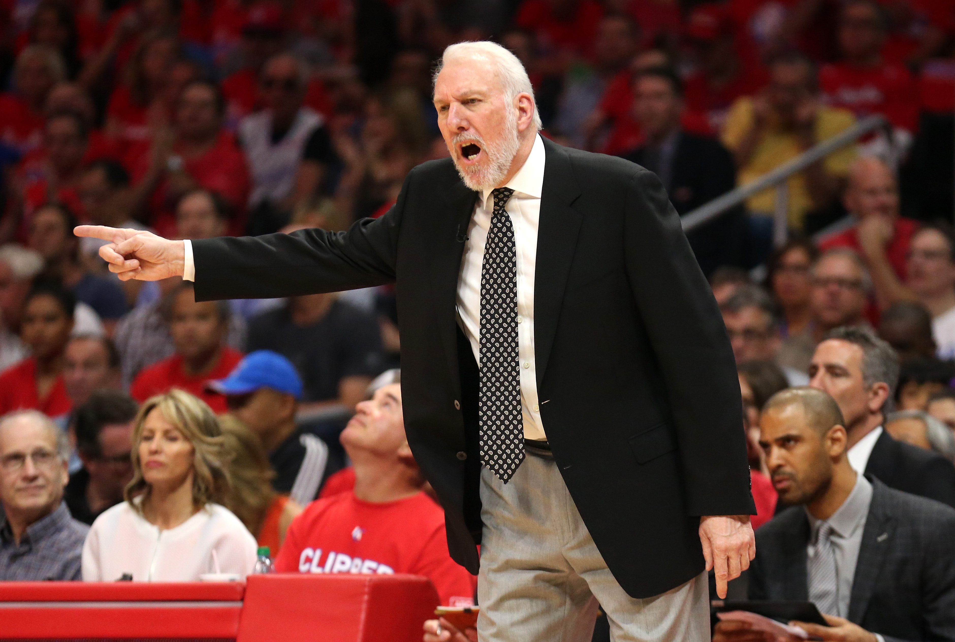 Gregg Popovich will become the coach of USA Basketball after the 2016 Olympics. (Getty)