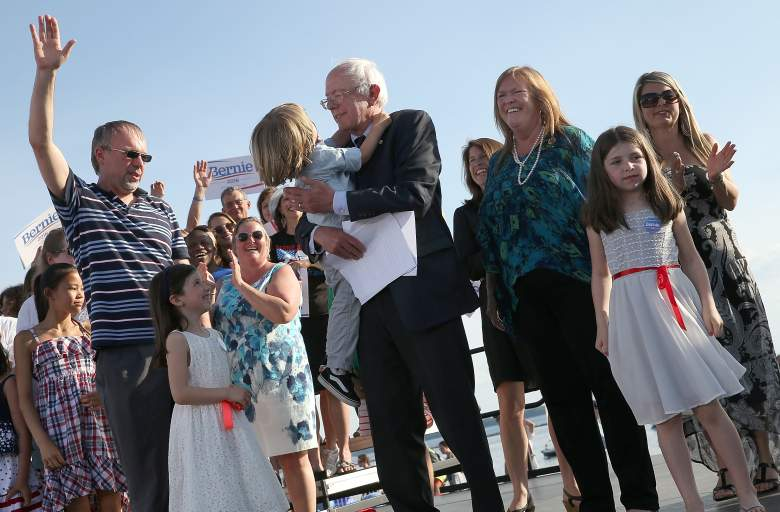 Bernie Sanders family, Bernie Sanders, Bernie Sanders wife