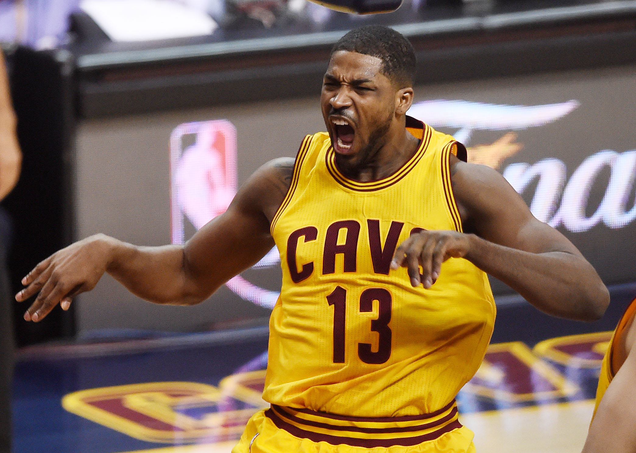 Thompson will return this year to  a loaded frontcourt including Kevin Love and Anderson Varejao. (Getty)