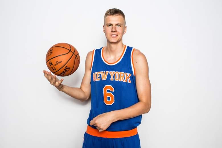 Kristaps Porzingis, New York Knicks, NBA
