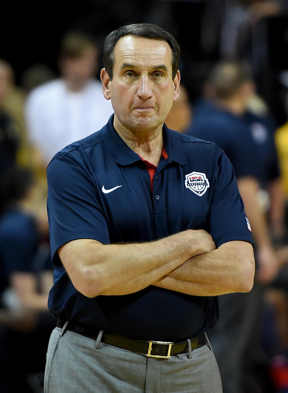 Team USA has won 63 straight games under Coach K. (Getty)