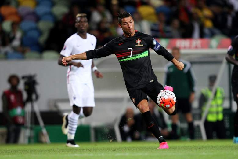 Ronaldo has five goals in five Euro 2016 qualifying matches. Getty)