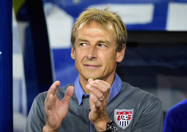 Jurgen Klinsmann and the United States need a victory. (Getty)