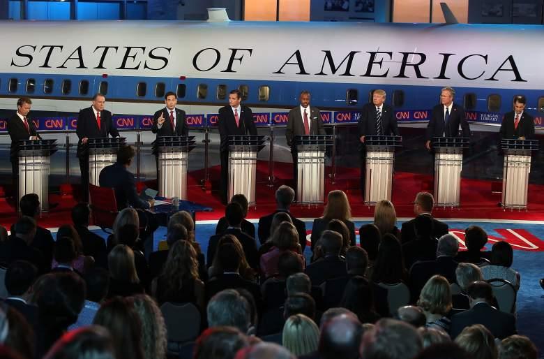 how many republican debates