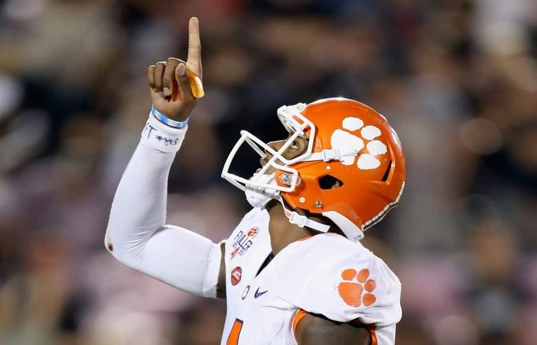 DeShaun Watson leads the Tigers at quarterback. (Getty)
